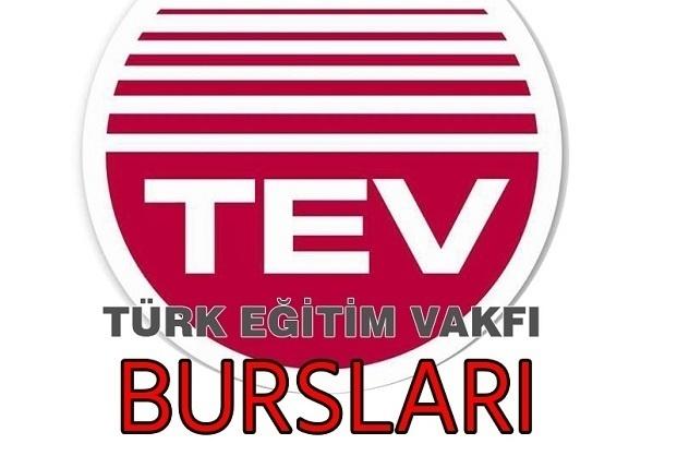 Türk Eğitim Vakfı (TEV) 2019-2020 Eğitim-Öğretim Yılı Burs Duyurusu